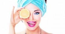 Taze ve Parlak Bir Cilt için Limon Maskeleri