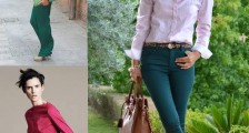 Tarzınıza Değiştirecek Yeşil Pantolon Modelleri