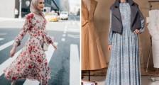 Tesettür Günlük Elbiseler Nasıl Kombinlenir?